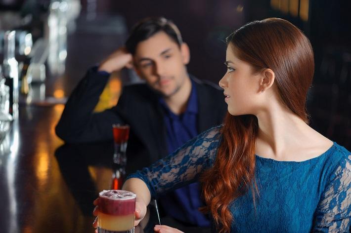 Meeting in the nightclub