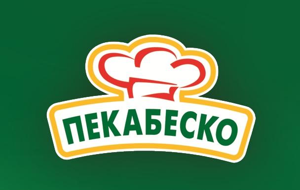 Pekabesko logo zeleno