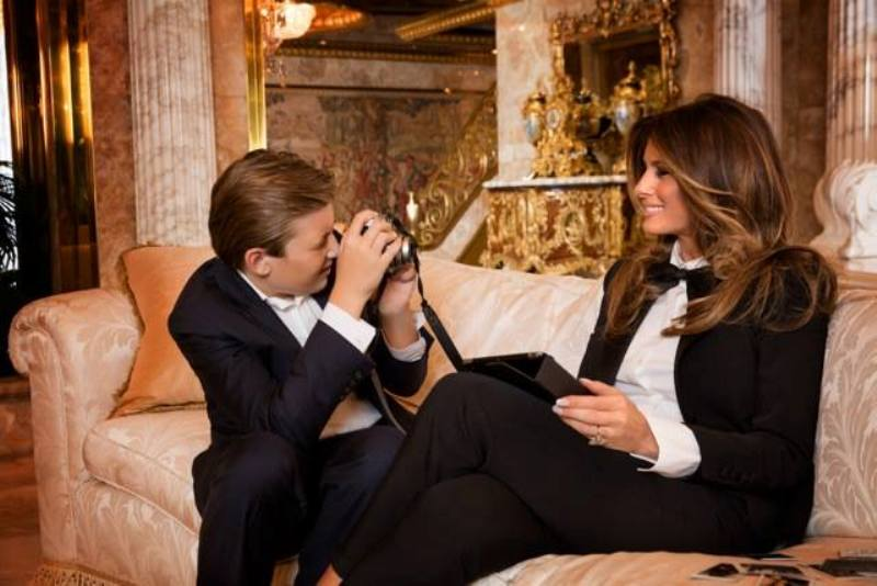 Melania Trump (Facebook photo)
