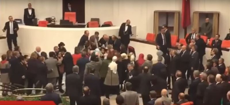 Tepacka vo turski parlament